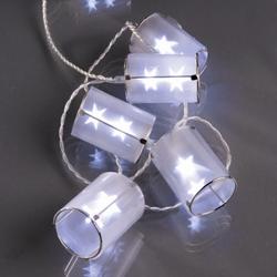 Hellum Lichterkette 10 Holografie-Laternen