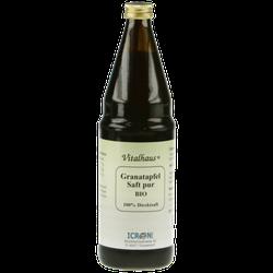 GRANATAPFEL SAFT Pur Bio Vitalhaus 750 ml