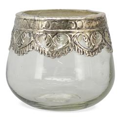 matches21 HOME & HOBBY Kerzenständer Windlichter Teelichtgläser rund 11 cm