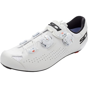 Sidi Genius 10 Schuhe Herren white/white EU 41 2021 Rennrad Klickschuhe