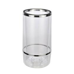 BigDean Kühlmanschette Flaschenkühler Doppelwandig Ø 12 cm H = 23