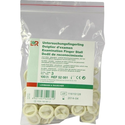 FINGERLING z.Untersuchung Gr.3 Latex 100 St