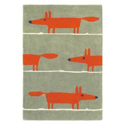 Teppich Mr Fox (Beige; 90 x 150 cm)