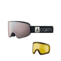 Cairn - Polaris CLX Pol Mat Black Silver - Skibrillen