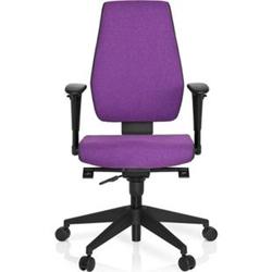 hjh OFFICE Profi Bürostuhl PRO-TEC 500 mit Armlehnen (höhenverstellbar)