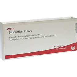 SYMPATHICUS GL D 30 Ampullen 10X1 ml