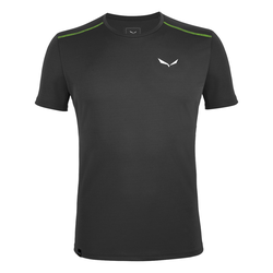 Salewa  *SPORTY B 4 DRY M S/S TEE - black out - 54/2X - BLACK OUT