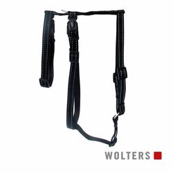 Wolters Geschirr Soft & Safe No Escape schwarz Panikgeschirr, Größe: XL