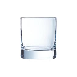 Arcoroc Whiskyglas Islande, Whiskyglas 380ml Glas transparent 6 Stück Ø 8.8 cm x 9.6 cm