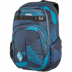 NITRO Daypack Chase Rucksack 51 cm Laptopfach fragments blue