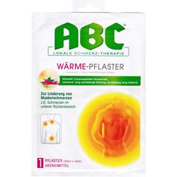 ABC Wärme-Pflaster Capsicum Hansaplast med 14x22 1 St.