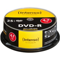 Intenso DVD-R 4,7GB 16x 25er Spindel (4101154)