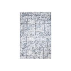 Teppich Chania, Mozato Home, Rechteck, Höhe 11 mm, Schadstoffgeprüft und zertifiziert grau 80 cm x 300 cm x 11 mm