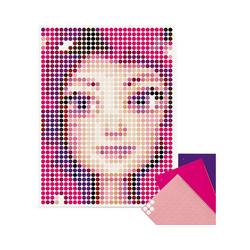Dot On Malvorlage dot on art - mia&me - mia, 30 x 40 cm