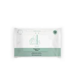 Naïf Feuchttücher plastikfrei 1 Paket mit 54 Feuchttüchern