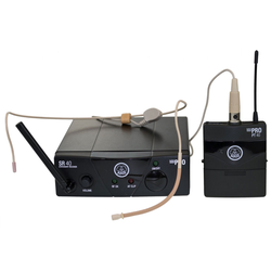 AKG WMS 40 Mini Sport Funk Headset ISM2 864,375 MHz