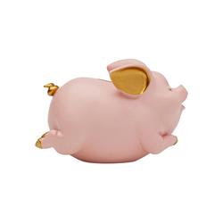 KARE Spardose Spardose Happy Pig Rosa