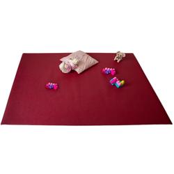 Teppich Krabbelmatten Rot Kinderspielmatten Krabbelunterlage diverse Größen, Mr. Ghorbani, Rechteckig, Höhe 4.5 mm 0 cm x 0 cm x 4.5 mm