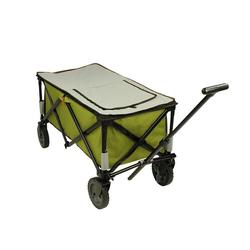 10T Bollerwagen 10T Cooler Trolley - faltbarer Bollerwagen, Strandwagen mit Kühlfach, max 75kg