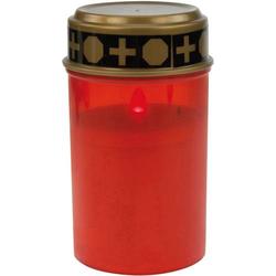 Heitronic 36384 LED-Grablicht LED Rot