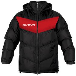 Givova Winterjacke Giubbotto Podio schwarz/rot - XL