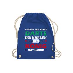 Shirtracer Turnbeutel Dart Spruch - Turnbeutel