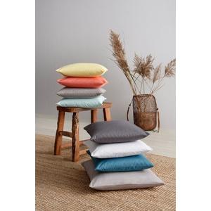 Kissenhüllen Neele, OTTO products (2 Stück), aus reiner Bio-Baumwolle grau 40 cm x 40 cm