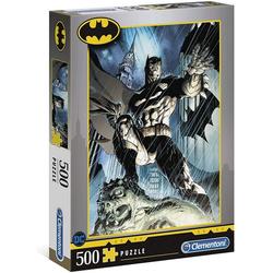 Clementoni® Puzzle Clementoni 35088 Batman 500 Teile Puzzle, 500 Puzzleteile