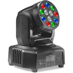 HeadBanger 6 Moving-Head mit 12 x 3-Watt R/G/B LED (Headbanger Mini 6)