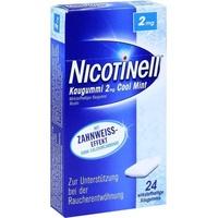 Nicotinell Cool Mint 2 mg Kaugummi 24 St.