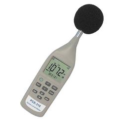 Schallpegelmessgerät PCE-318 | Klasse II, 26 bis 130 dbA, rekalibrierbar