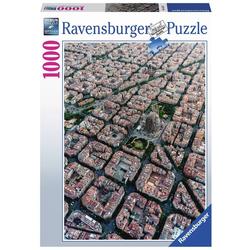 Barcelona von oben - Puzzle mit 1000 Teilen