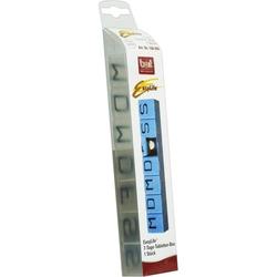BORT 7-Tage-Tablettenbox weiß