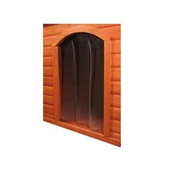 TRIXIE Kunststofftür für Hundehütte 32x43 cm