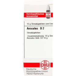 AESCULUS D 2 Globuli 10 g
