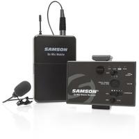Samson GoMic Mobile Lavalier Ansteck Funkmikrofon-Set Übertragungsart:Funk inkl. Kabel
