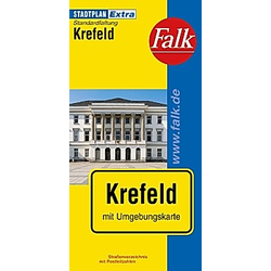 Falk Plan Krefeld - Buch