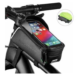 ROCKBROS Fahrradtasche Fahrrad Rahmentasche Fahrradtasche Oberrohrtasche für 6,0'' Handys