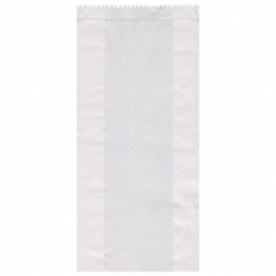 Papierfaltenbeutel weiß 15+7 x 35 cm für ca. 2,5kg Inhalt, 1000 Stk.
