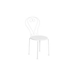 BUTLERS Gartenstuhl CENTURY Stuhl weiß