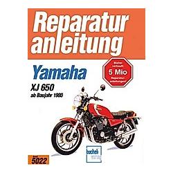Yamaha XJ 650   ab 1980; . - Buch