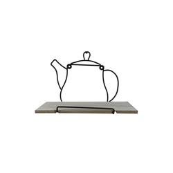 HTI-Line Wandregal Wandboard Teatime Viola, 1-tlg., Wandboard
