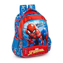 Spiderman Kinderrucksack Marvel´s Spiderman - Rucksack, 39x32x15 cm (Reißverschluss, Jungen), Tragegurte