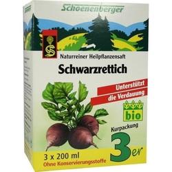 SCHWARZRETTICH Schoenenberger Heilpflanzensäfte 600 ml