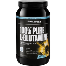 Body Attack Pure L-Glutamine 1kg