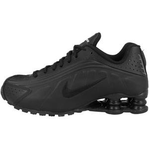 Nike Shox R4 (gs) Leichtathletikschuhe, Schwarz (Black/Black/Black/White 000), 40 EU