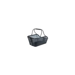 Basil Cento Tech Fiber Nordlicht MIK - Fahrradkorb - hinten - solid schwarz Taschenvariante - Korb,