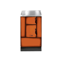 WAMSLER K 150 S/III Kohleherd  braun