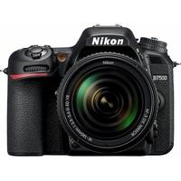 Nikon D7500 KIT AF-S DX 18-140 mm 1:3.5-5.6G ED VR Spiegelreflex Kamera schwarz