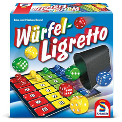 Schmidt Spiele Würfel-Ligretto Würfel-Ligretto 49611